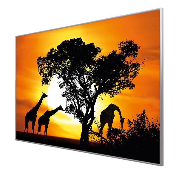 Bildheizung Motiv 012 Giraffen
