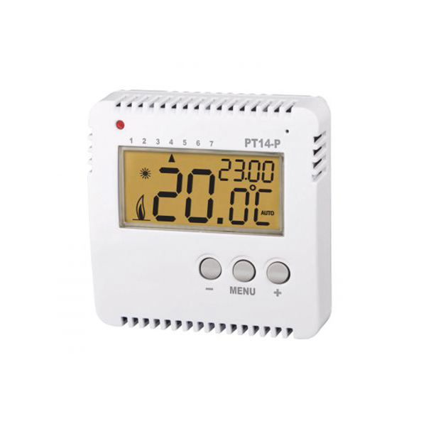 Aufputzthermostat PT14-P programmierbar mit LCD-Display