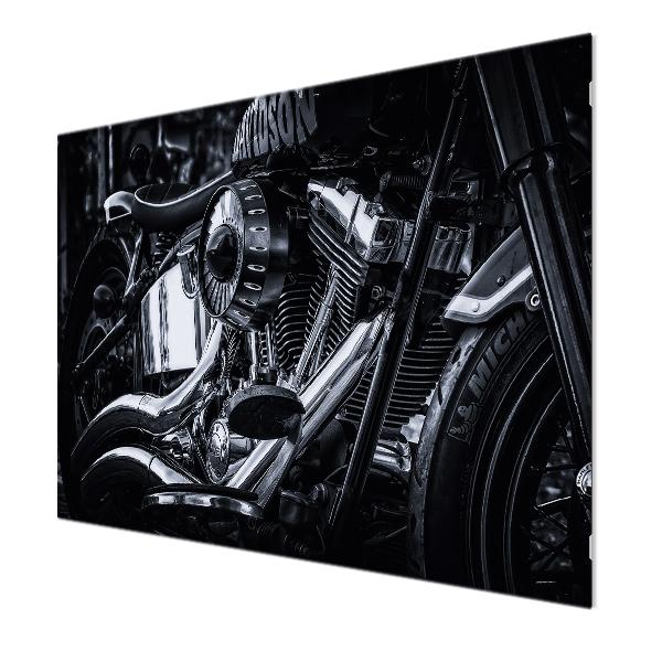Glasbildheizung Motiv 014 Motorrad