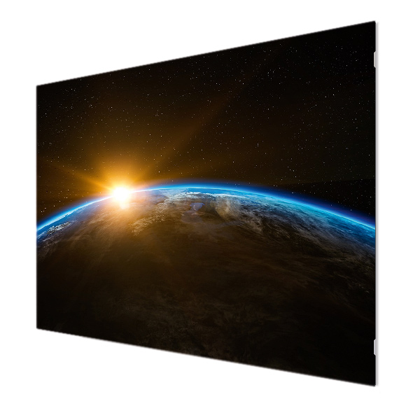 Glasbildheizung Motiv 025 Planet