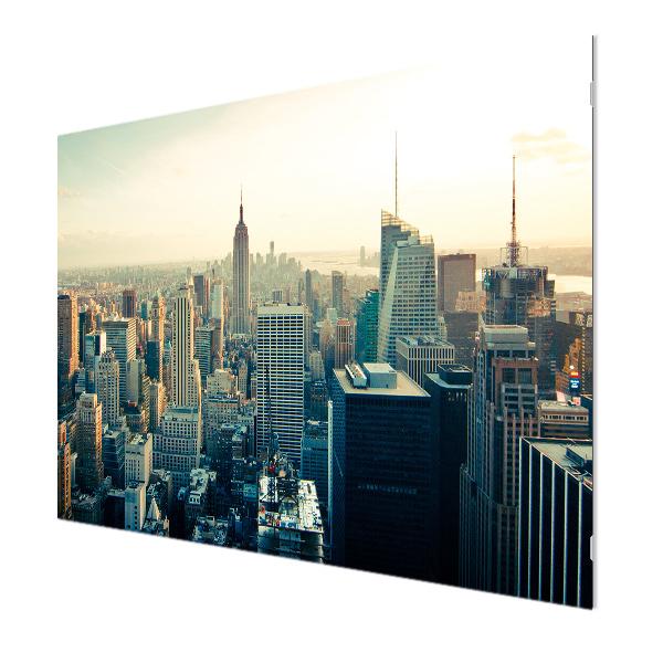 Glasbildheizung Motiv 024 Skyline