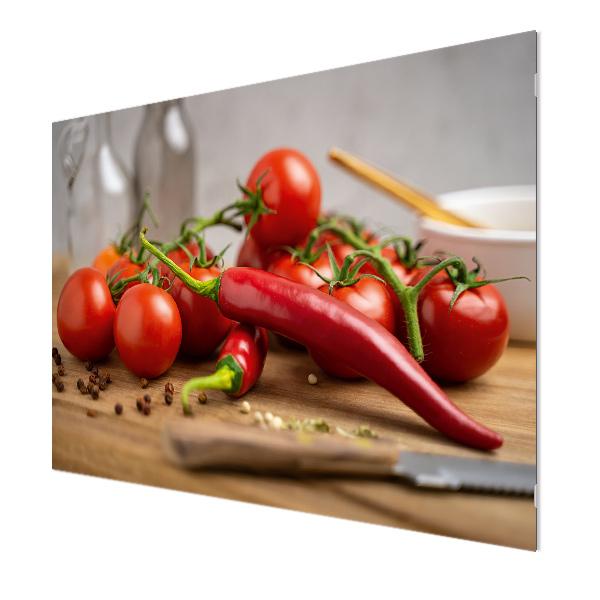 Glasbildheizung Motiv 018 Tomaten