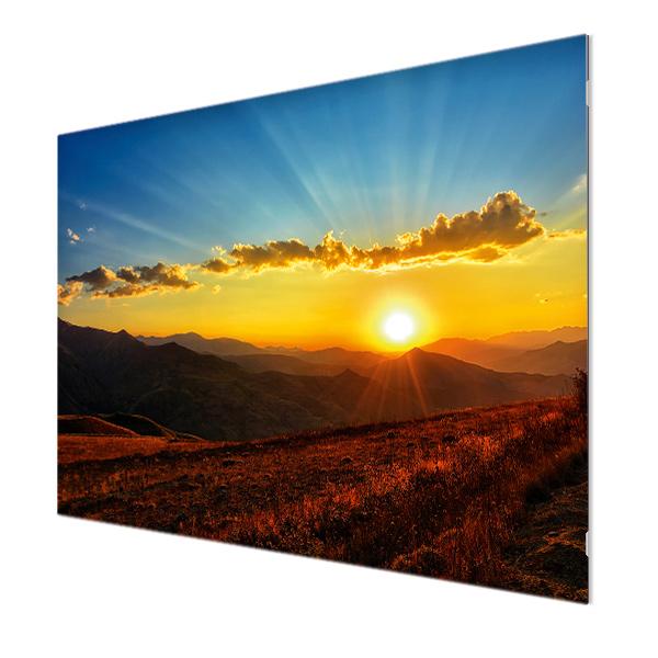 Glasbildheizung Motiv 008 Sonnenungergang 1