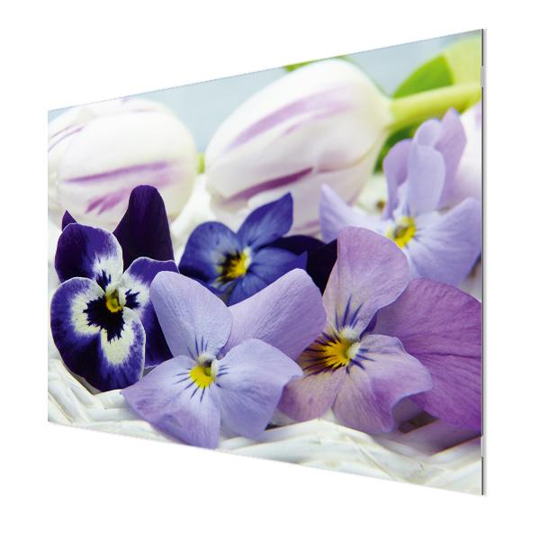 Glasbildheizung Motiv 002 Blüten