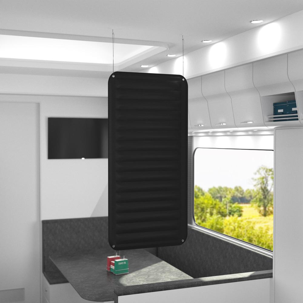 Textilheizung 400 Watt 98x48cm