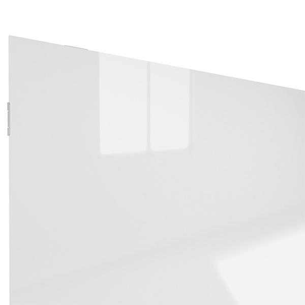 Glasheizung weiß 900Watt 100x80cm