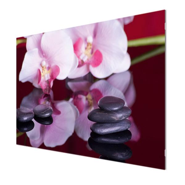 Glasbildheizung Motiv 003 Orchideen