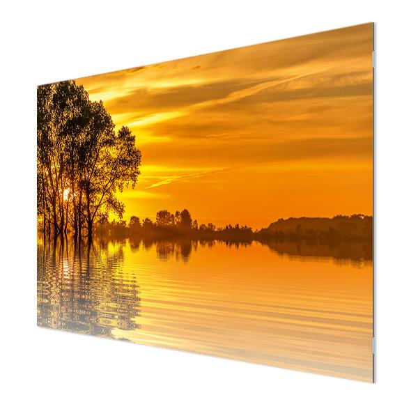 Glasbildheizung Motiv 010 Sonnenuntergang 3