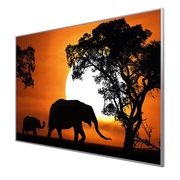Bildheizung Motiv 011 Elefanten